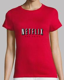 Tee shirt femme, rouge, qualité supérieure