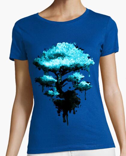 T-Shirt tee shirt frau, dunkelgrau, beste qualität