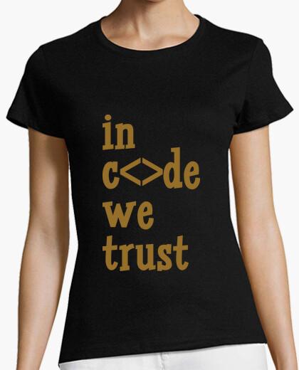 T-Shirt tee shirt frau, schwarz, beste qualität