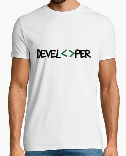 Tee-shirt Tee shirt Geek - Developer
