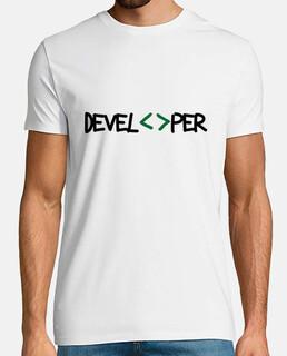 tee shirt geek - sviluppatore