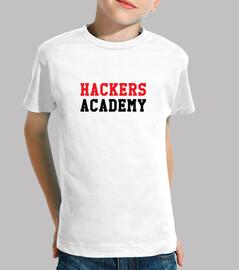 tee shirt hacker accademia