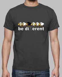 Tee shirt homme be different