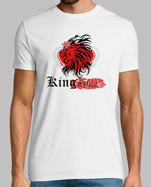 Tee shirt homme, blanc, king street
