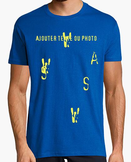 Tee-shirt Tee shirt homme, bleu royal, qualité supérieure
