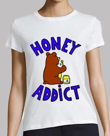 Tee shirt homme Honey addict gourmand miel