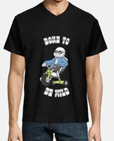 "Tee shirt homme, manche courte, col ""V"""