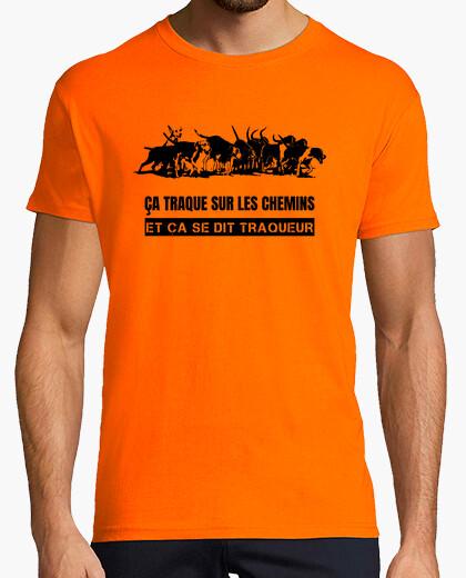 Tee-shirt Tee shirt homme, orange, qualité supérieure