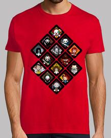 Tee shirt homme, rouge, qualité supérieure