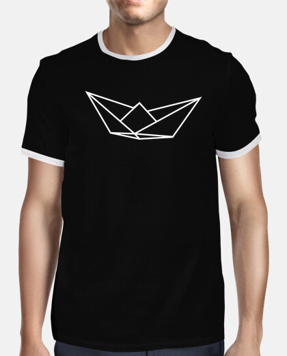 Tee shirt homme, style rétro, noir et blanc