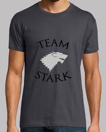 Tee shirt homme Team Stark  - Game of Thrones