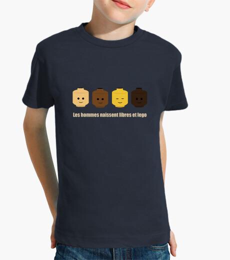 Vêtements enfant tee shirt libre et lego enfant