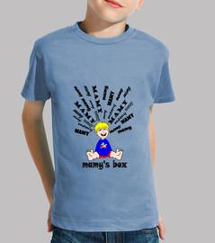 tee shirt mamy trendy super mamy child