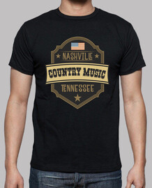 tee shirt musique country nashville tennessee rockabilly USA