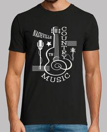 tee shirt musique country rockabilly nashville tennessee USA
