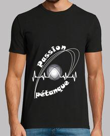tee shirt petanque passion man fs electrocardiogram