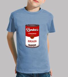 tee shirt petite soupe zombie