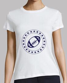 Tee shirt Rugby femme, blanc, qualité supérieure