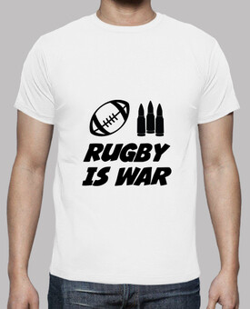 Tee shirt Rugby homme, blanc, qualité supérieure