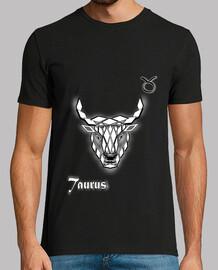 tee shirt sign zodiac bull man