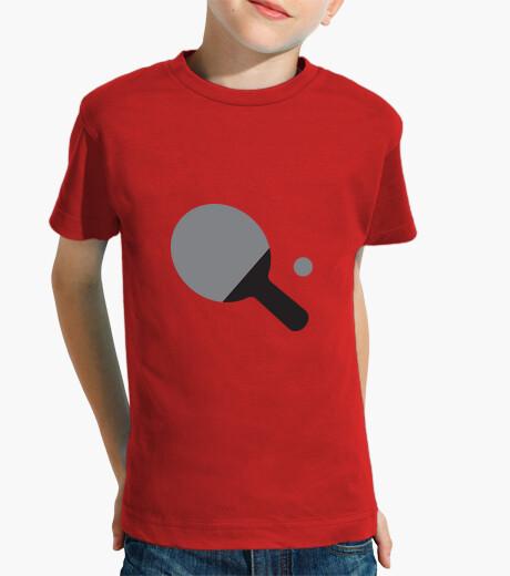 Vêtements enfant Tee shirt Tennis de table enfant, manche courte, rouge