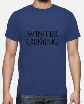 tee shirt winter sta arrivando - game of thrones