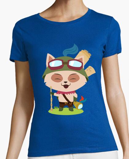 T-shirt teemo ragazza