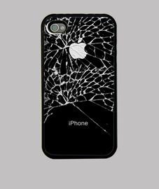 téléphone cassé
