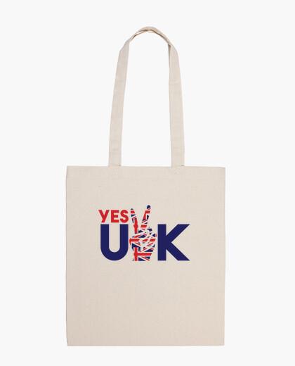 Bolsa tema patriótico británico