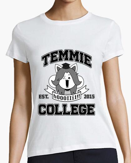 Temmie college t-shirt