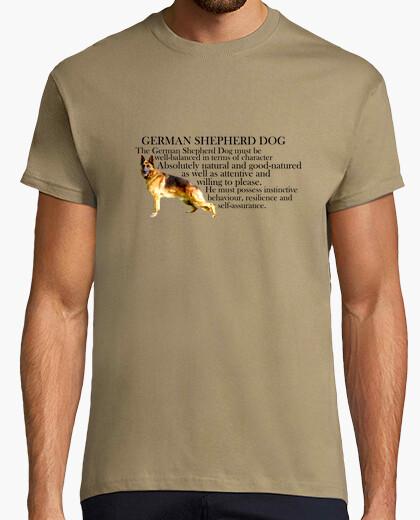 Tee-shirt tempérament berger allemand