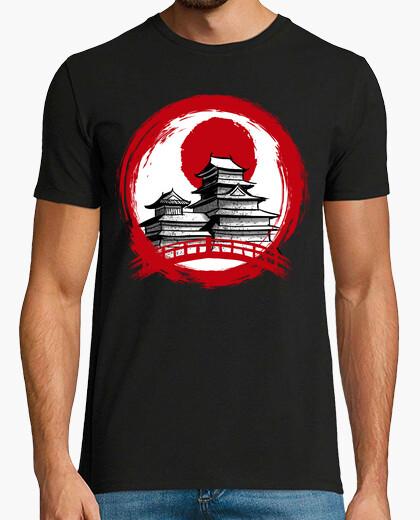 T-shirt tempio del cerchio rosso