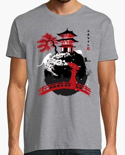 Tee-shirt temple de geisha