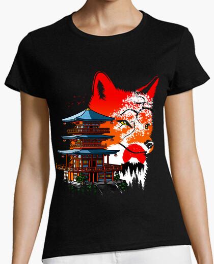 Camiseta Temple Fox