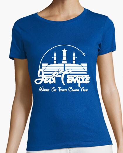 Camiseta Templo Jedi (chica)
