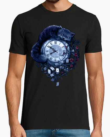 T-shirt tempo nel paese delle meraviglie