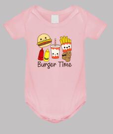 temps de hamburger