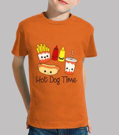 temps de hot-dog