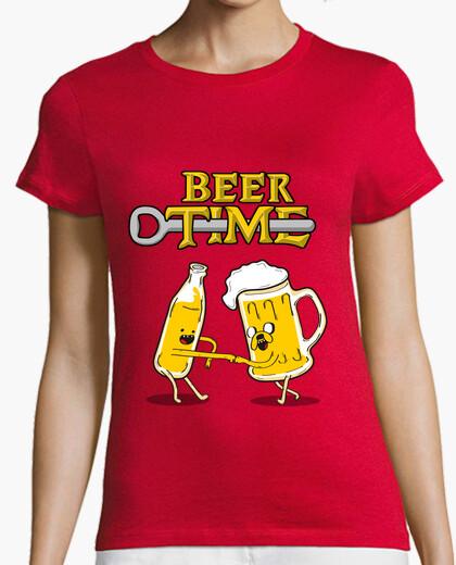 Tee-shirt temps de la bière