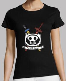 temps pirate !! - shirt femme