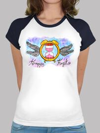 Tempus- Mujer, estilo béisbol, blanca y azul marino