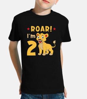 tengo 2 años de cumpleaños de león