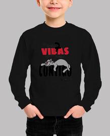 Tengo 7 Vidas Camiseta Niño Manga Corta