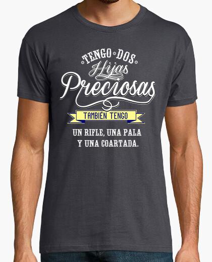 Camiseta TENGO DOS HIJAS PRECIOSAS 2