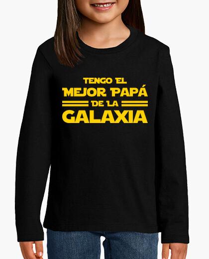 Ropa infantil Tengo El Mejor Papá de la Galaxia