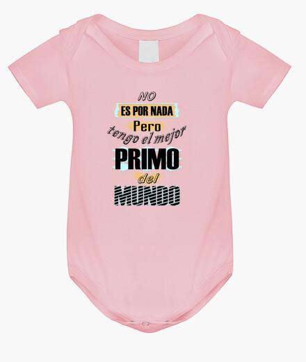 Ropa infantil Tengo el mejor Primo del Mundo bebe