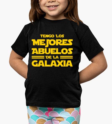 Ropa infantil Tengo los Mejores Abuelos de la Galaxia