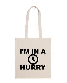 Tengo prisa - In a hurry