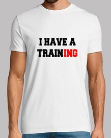 tengo un entrenamiento