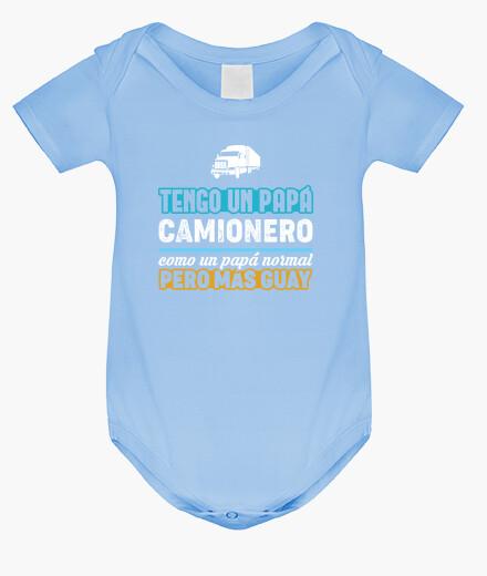 Ropa infantil Tengo Un Papá Camionero V2